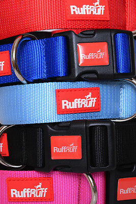 2 YEAR GUARANTEE RUFF RUFF Neoprene Padded 4 6 Foot Dog Lead or Collar Pink more