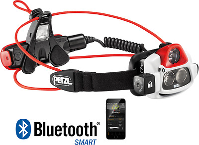 Petzl NAO+ 750 Lumens Rechargeable Bluetooth Headlamp