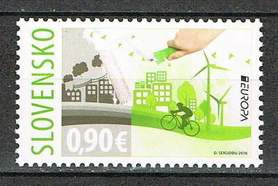 "Slowakei: MiNr. 790 **, postfrisch, EUROPA 2016 ""Think Green"" [6399]"