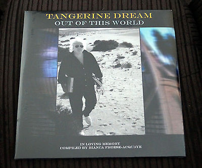 Tangerine Dream Out Of This World Brand New Factory Sealed Ltd Edition Vinyl 2Lp