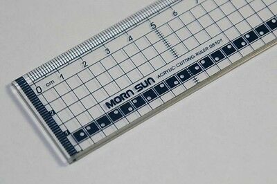 30cm Acrylic Cutting Ruler with Metal Edge for Cardmaking  8101