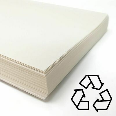 Recycled White Cartridge Paper 140gsm Choose Size and Quantity A1,A2,A3,A4