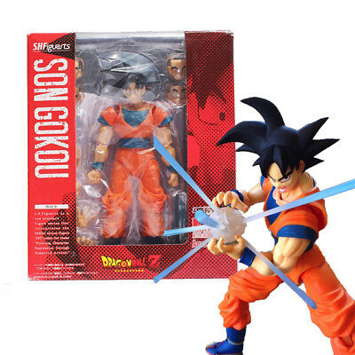 New  Dragon Ball Z S.H.Figuarts Super Saiyan God SS Son Goku Gokou Figure Toy Fs