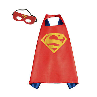 SUPERMAN DC Universe Red Mask and Cape Set Super Man (Cosplay Costume)
