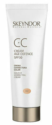 CC Cream Tono 02 Oscuro - Dark 40ML Natural Defence SkeyndoR