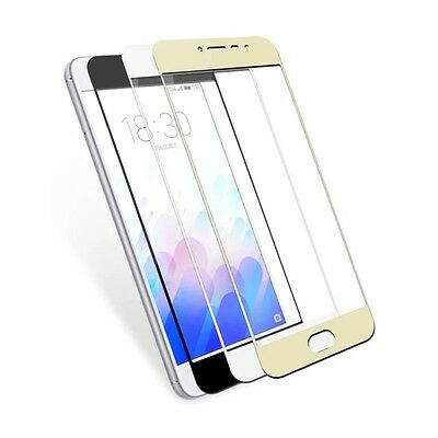 2.5D 9H TEMPERED GLASS FULL SCREEN PROTECTOR Cover FOR Meizu