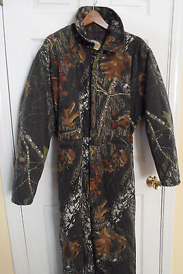 CABELA'S FOR KIDS Insulated Camo Coveralls Mossy Oak Break Up -- Youth  Sz 2XL