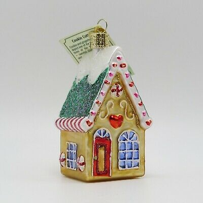 Cookie Gingerbread Cottage Home Merck Old World Christmas Ornament 20064
