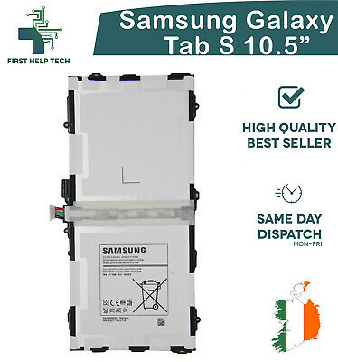 New Internal Replacement Battery For Samsung TAB S 10.5 T800 7900mAh EB-BT800FBC