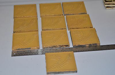 Antique USE TCo  Trent Tile Rare Find Set of 10 Vintage Victorian/At Deco USA