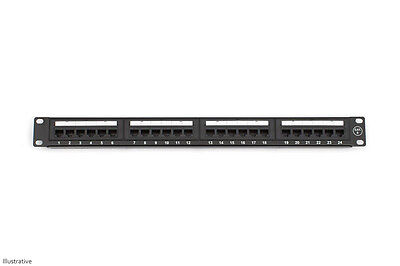 CAT6e 24 Port Patch Panel