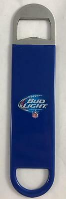 NEW Bud Light NFL Football Vinyl Coated Metal Beer Bottle Opener 7""