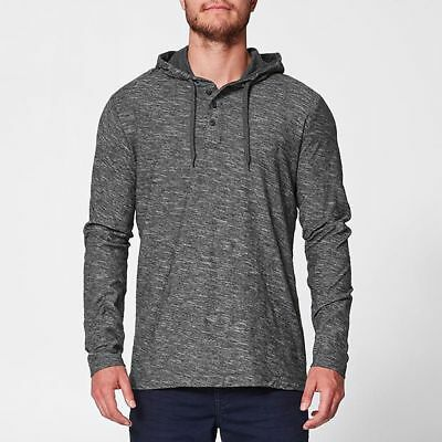 NEW Hooded Henley Top