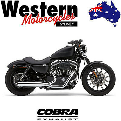 COBRA - Power Pro HP 2 into 1 Exhaust - HARLEY DAVIDSON Dresser