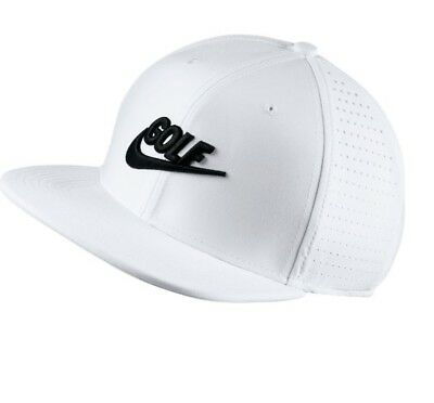 NEW Nike Golf Aerobill Cap Pro Snap Back Cap Unisex -White -  29.95 ... 69e593852e3