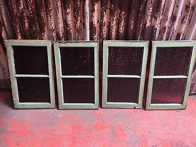Timber Windows With Coloured Stained Glass Decorative Feature 410w X 680h 1 Left