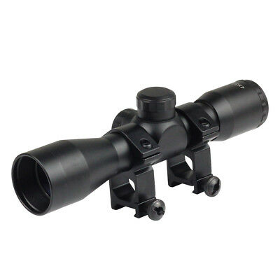 New Tactical 4 x 32 Telescopic Sight Scope With 20mm Rail Mount For Air Rifle