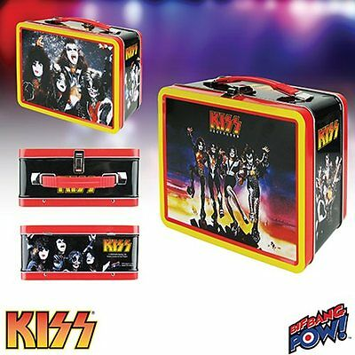 Kiss Retro Metal Lunch Box Destroyer