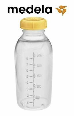 Medela Baby Bottles Breast Milk Bottle w/ Lids 8oz 250ml 87150s BPA FREE Sterile