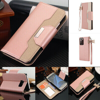 fr Samsung Galaxy S7/S7 Edge Luxury Leather Wallet Card Magnetic Flip Case Cover