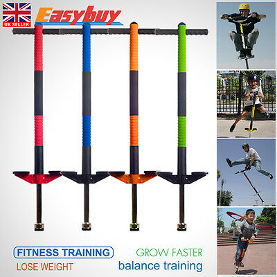 2017 New Pogo Stick Jackhammer Jump Stick for Children and Adults Gift Kid Toy