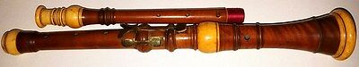 Oboe Baroque Rare Old Antique Collection Boxwood