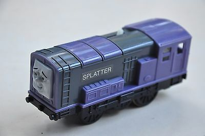 THOMAS TRACKMASTER TRAIN SET MOTORISED ENGINE - *RARE* SPLATTER - Like NEW