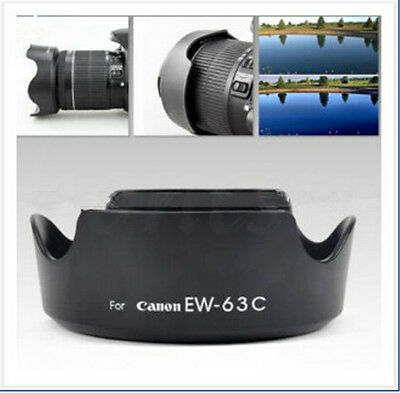 1pc EW-63C Camera Lens Hood Shade For Canon EF-S 18-55mm f/3.5-5.6 IS STM