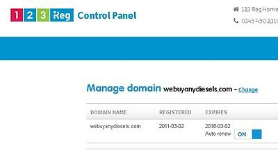 Domain Name For Sale - WWW.WEBUYANYDIESELS.COM - Ideal for Car buyers.