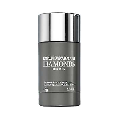Emporio Armani Diamonds for Men Deodorant Stick 75g for Him, NEW Men's Deodorant