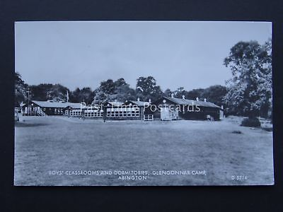 Youth Camp / Hostel ABINGTON GLENGONNAR CAMP Lanarkshire c1970's RP Postcard