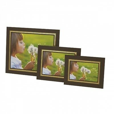 Photo Mounts KENRO STRUT PACKS Cardboard Picture View Holders - BROWN & GOLD