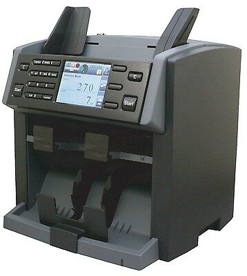 Amrotec X1 Currency Discriminator Mixed Money Counter with One Year Warranty