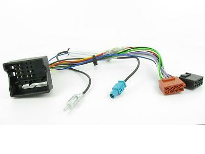 Citroen C4 04-10 on Car Stereo Radio ISO harness connector and aerial adaptor