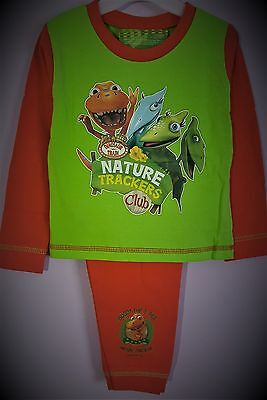The Dinosaur Train Pyjamas Pj's Green Boys Long Sleeve Pyjama Set T2TC162