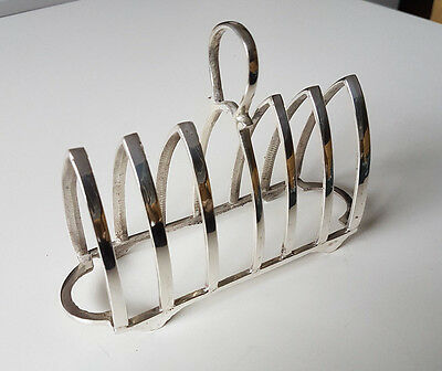 A Lovely high Quality Silver Plated EPNS Toast Rack / Letter Rack