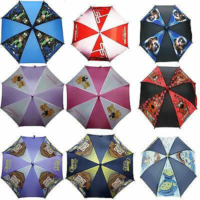 Childrens Kids Character Novelty Design Umbrella Brolly