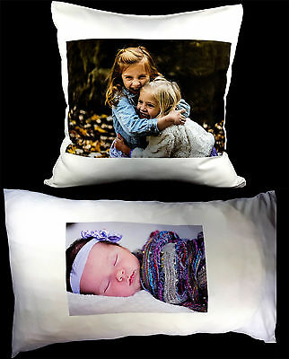 Personalised Cushion Cover Pillow Case Collage Printed Photo Lovely Gift