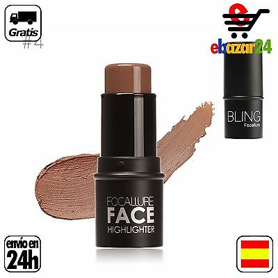 #4 FOCALLURE FACE HIGHLIGHTER MAKE UP BRILLO MAQUILLAJE CONTOUR  *Envío GRATIS d
