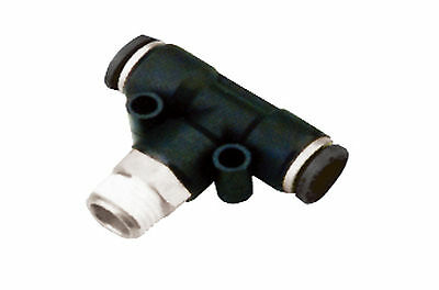 EPU8 Union Straight Inlet 8mm Tube 5 for $6