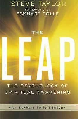 The Leap by Steve Taylor & Forward by Eckhart Tolle NEW