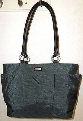 Baggallini Shimmer Carry On Purse Tote Weekender Travel Bag Overnight Duffle Gym