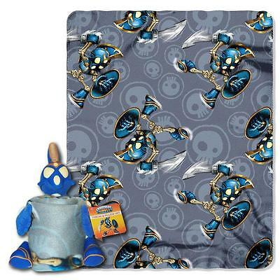 Skylanders Character Hugger Pillow pal and Throw blanket 2 pieces Set Chop Chop