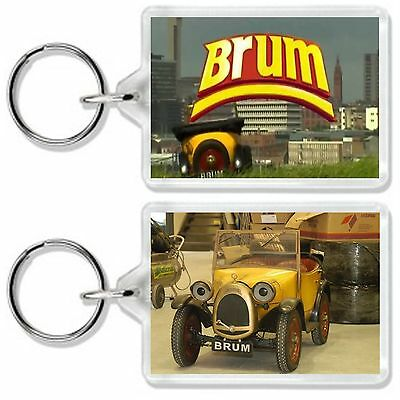 Brum Classic Retro Kids Tv Show And Dvd Keyring *great Gift* Uk Seller