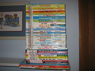 Lot of 50 Dr Seuss Bright & Early Beginner Books 9 NEW