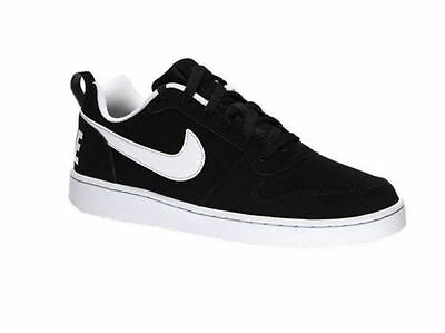 new arrival 78aa9 4daab Nike Court Borough low Men s Running Shoes 838937 010 Black White Sz7-13 H  S K