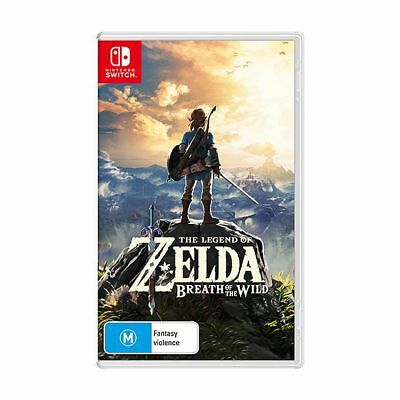NEW The Legend Of Zelda: Breath Of The Wild - Switch