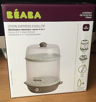 Beaba Evolutive Steril Express 2-in-1 Electrical Steam Steriliser