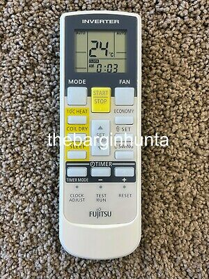 Fujitsu Air Conditioner Replacement Remote Control AR-RAH1E, AR-RAH2E, AR-RAH1U