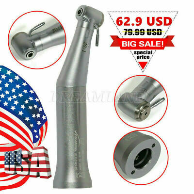 20:1 Reduction Push Low Speed Handpiece Contra Angle for NSK SG20 Dental Implant